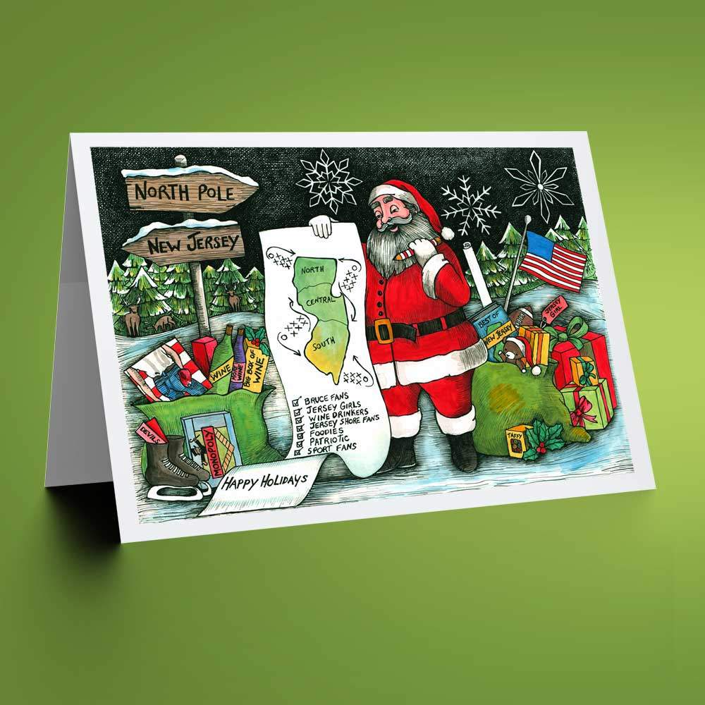 Christmas Card Bundle - New Jersey themed prints